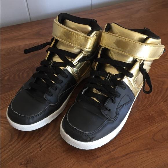 H\u0026M Shoes | Black Gold Boys Hm Shoe
